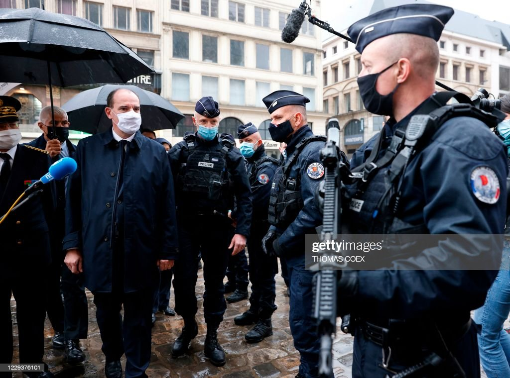 FRANCE-ATTACK-RELIGION-GOVERNMENT : News Photo