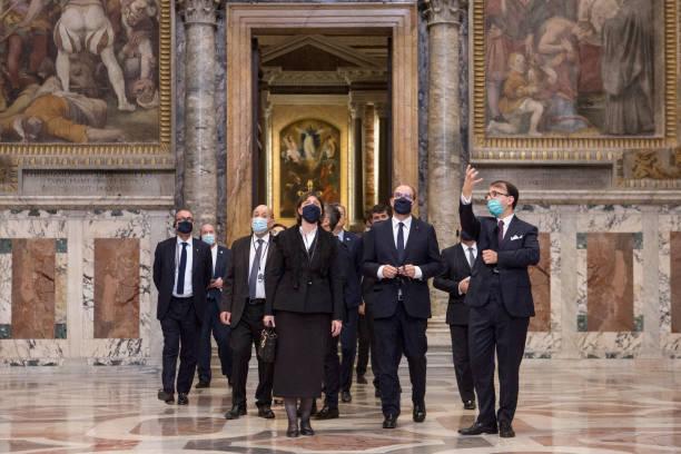 VAT: French Prime Minister Jean Castex Visits Vatican