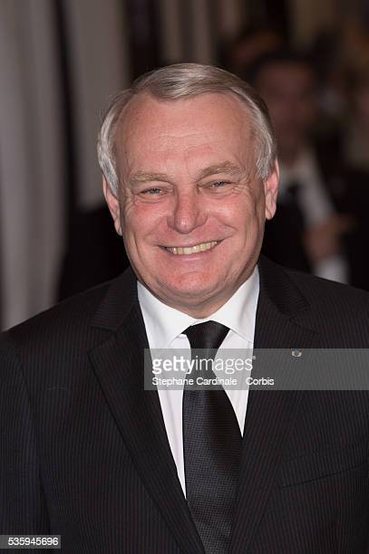 French Prime Minister JeanMarc Ayrault attends the premiere of 'Aimer Boire et Chanter' in Paris