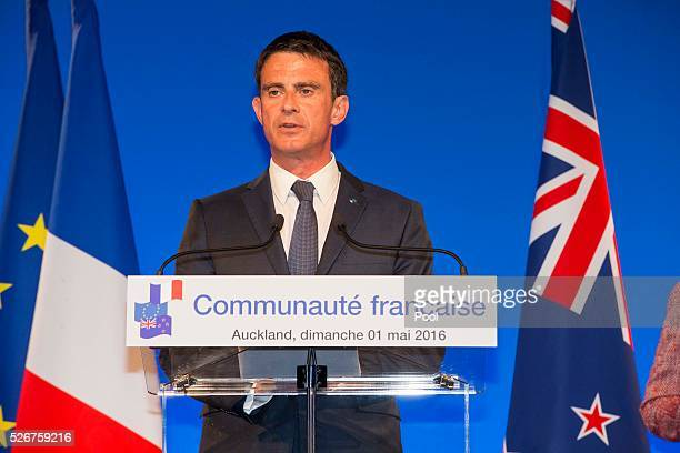 French Prime Minister Manuel Valls honours The Hobbit movie maker Peter Jackson and photographer Fiona Pardington with prestigious arts medals at the...
