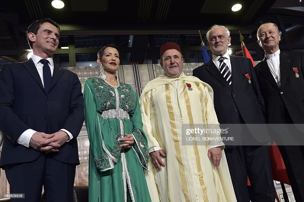 FRANCE-MOROCCO-RELIGION-DIPLOMACY : News Photo