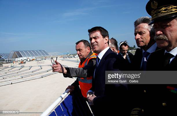 French Prime Minister Manuel Valls travels to Normandy for a progress report on the measures put in place to commemorate the 70th anniversary of the...