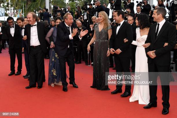 French producer Alain attal Belgian actor Jonathan Zaccai French actress Melanie Doutey French actor Philippe Katerine French actress Noee Abita...