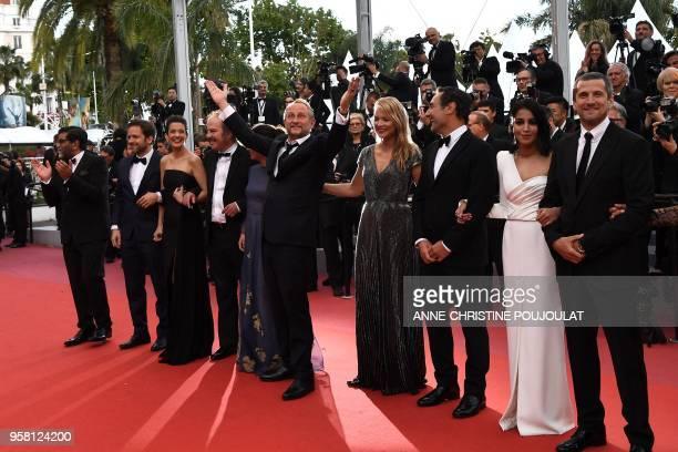 TOPSHOT French producer Alain attal Belgian actor Jonathan Zaccai French actress Melanie Doutey French actor Philippe Katerine French actress Noee...