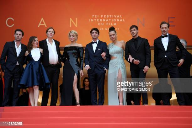 French producer Arthur Harari French actor Gaspard Ulliel French actress Laure Calamy French film director Justine Triet Belgian actress Virginie...