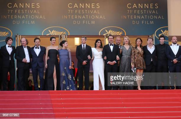 French producer Hugo Selignac French actor Philippe Katerine Belgian actor Jonathan Zaccai French actress Melanie Doutey French actress Noee Abita...