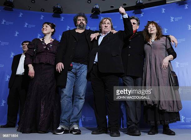 French producer JeanPierre Guerin French actress Miss Ming French director Gustave Kervern French actor Gerard Depardieu French director Benoit...