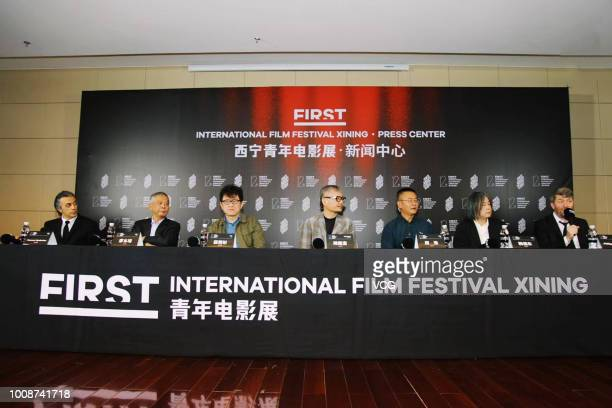 French producer Philippe Bober photographer Liao Penjung film producer Su ChaoBin director Chen Kuofu film producer Zhou Hao director Yang Fudong and...