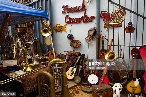 french quarter flea market - new orleans stock-fotos und bilder