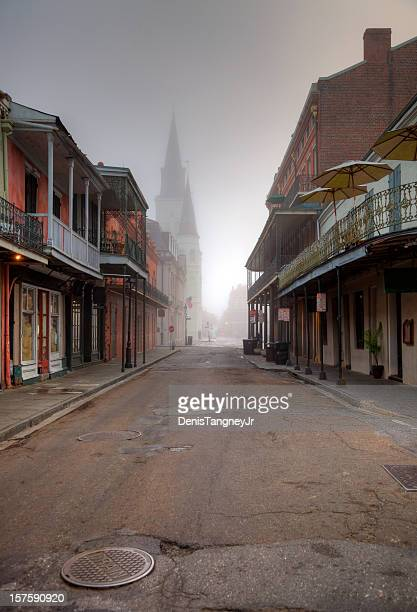 french quarter new orleans - new orleans french quarter stock photos and pictures