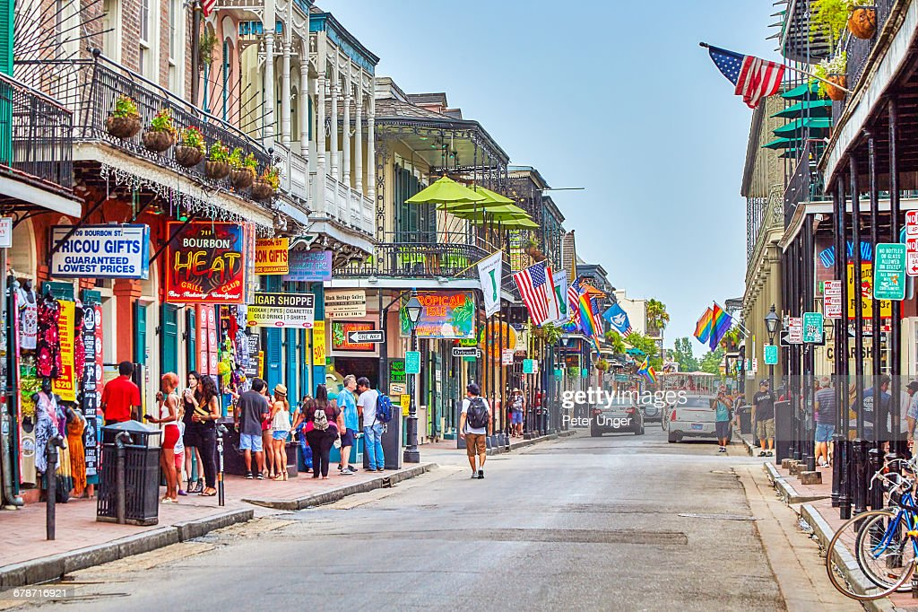 French Quarter Streets New Orleans Stock Photo   Getty Images