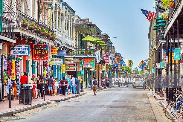 French Quarter streets, new Orleans