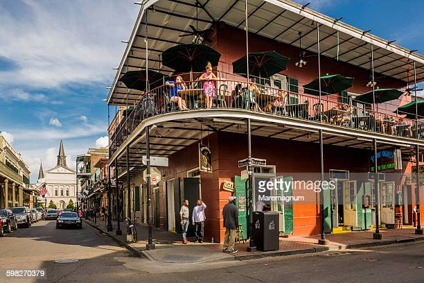 French Quarter, typical building