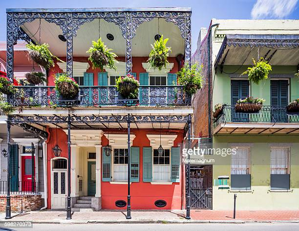 French Quarter, typical house