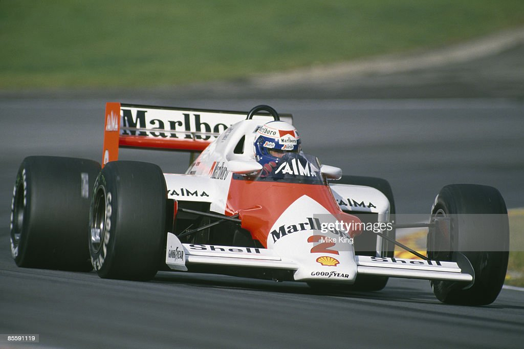 Prost In McLaren : News Photo