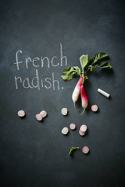 French radishes
