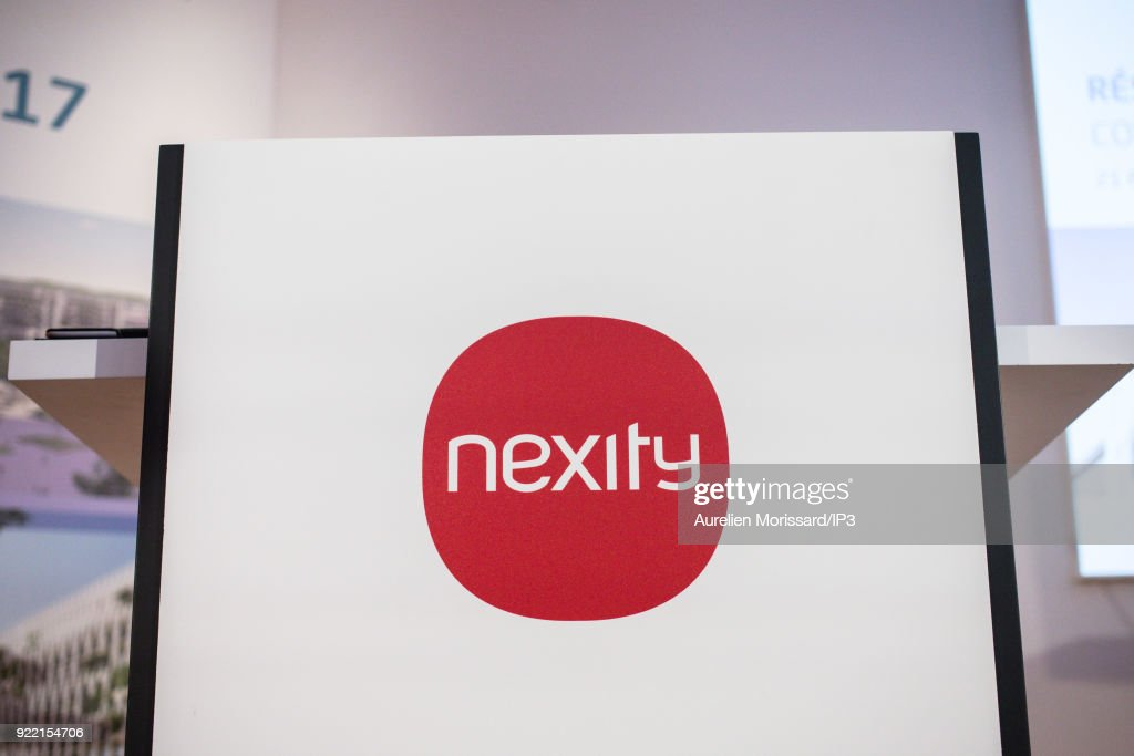 French real estate company NEXITY attends a press conference to present the group s 2017 annual results, on February 21, 2018 in Paris, France. The company is the number one residential real estate developer in France.