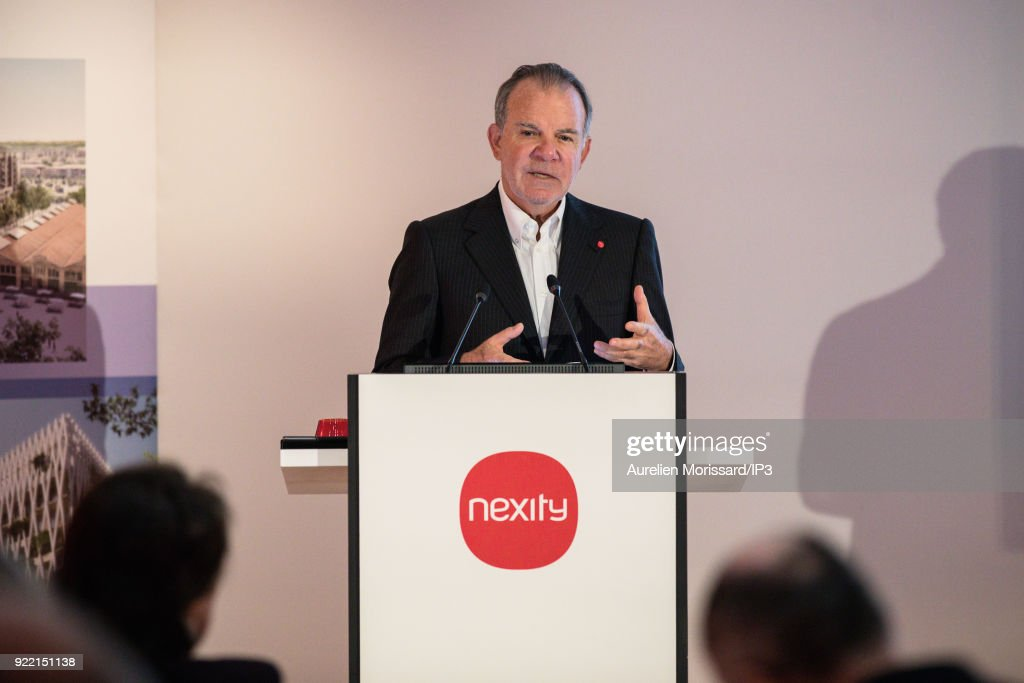 French real estate company NEXITY CEO Alain Dinin attends a press conference to present the group s 2017 annual results, on February 21, 2018 in Paris, France. The company is the number one residential real estate developer in France.