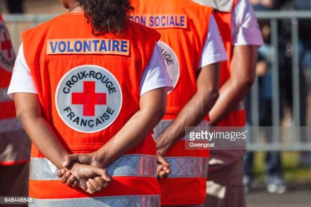 クロア ルージュ ・ フランセーズ - 赤十字社 ストックフォトと画像