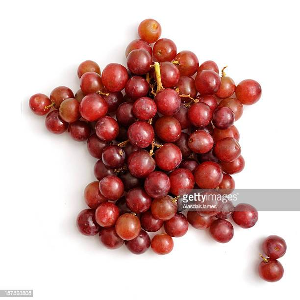 French Red Grape Map