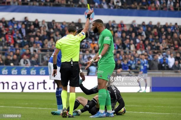 FRA: RC Strasbourg v AS Saint-Etienne - Ligue 1 Uber Eats