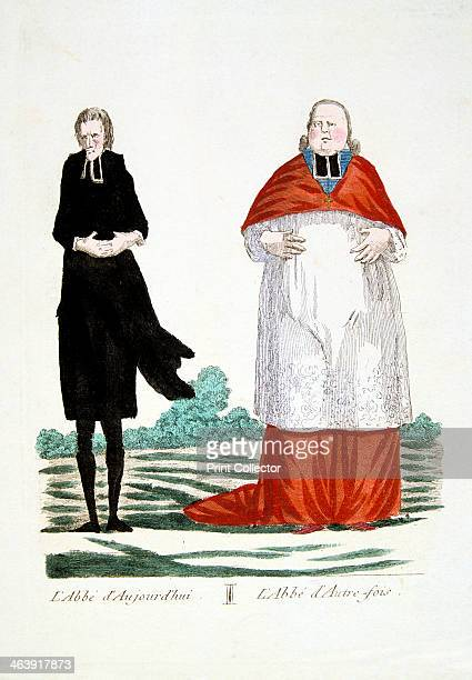 anticlericalism Anticlerical caricature on the confiscation of the wealth of the Church The Abbe as he his today The Abbe in former times From a...