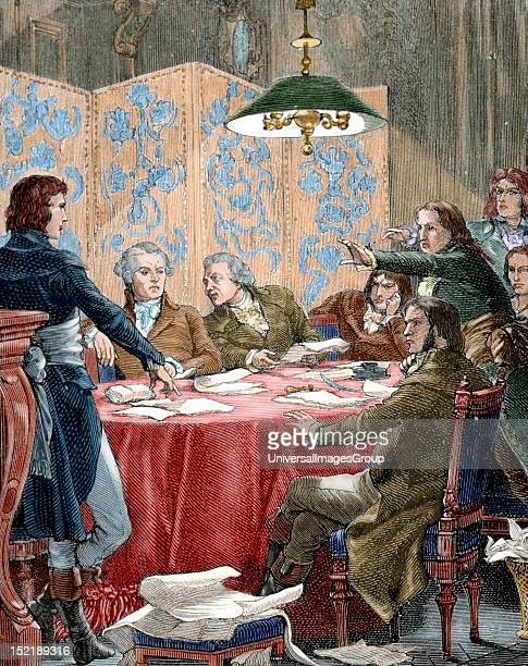 French Revolution During the Revolution special courts were created The most important was the Committee of Public Safety Colored engraving 19th...