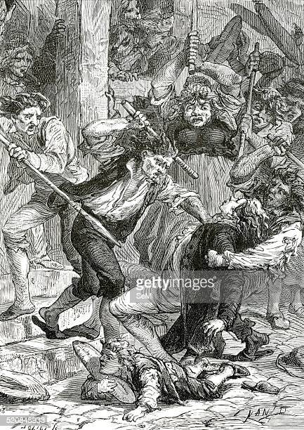 French Revolution François due de Guise commander of the French catholic forces was assaulted by Poltrot de Mérey before Orléans on 18 February 1563