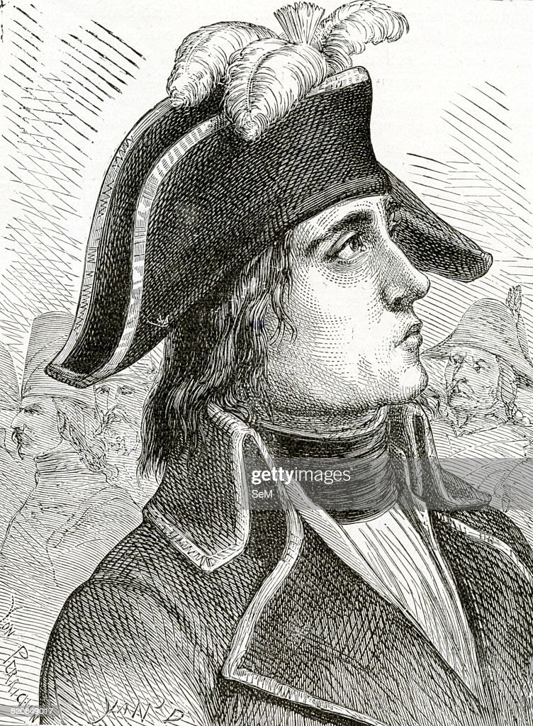 Jean Antoine Rossignol french Revolution general Yan' Dargent : News Photo