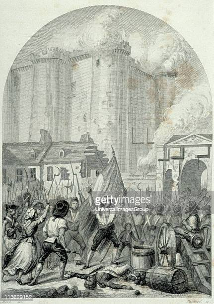 French Revolution Storming of the Bastille in Paris 14 July 1789