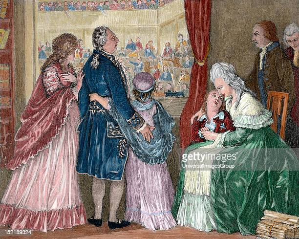 French Revolution The royal family took refuge in the Assembly after the assault on the Tuileries and the suspension of the functions of King Louis...