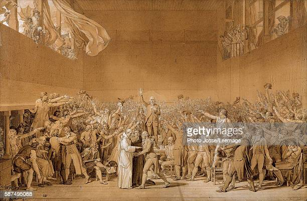 The Tennis Court Oath at Versailles 20 June 1789 with Jean Sylvain Bailly The deputies pledged not to stop the meetings until France had a new...