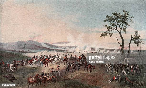 French Revolutionary Wars First Coalition Italian Campaigns Battle of Castiglione On August 3 1796 Engraving after a lithography by Victor Adam