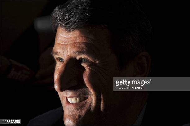 French RightWing Candidate For The 2007 Presidential Elections Philippe De Villiers In Le Meriot France On March 20 2007
