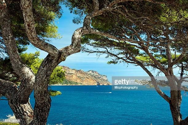 Côte d'Azur à proximité de Cassis, France