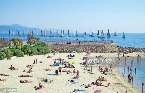 french riviera - antibes stock photos and pictures