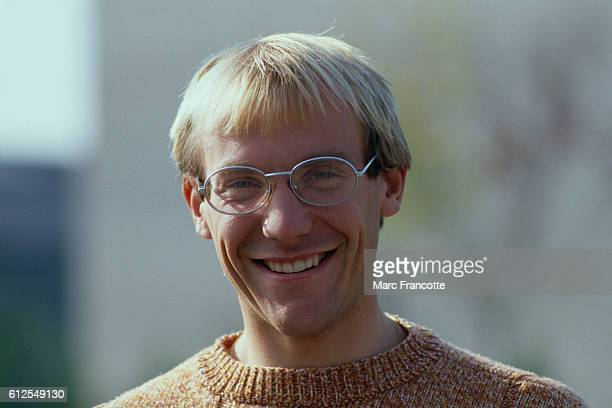French road racing cyclist Laurent Fignon