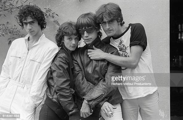 French rock band Telephone are Louis Bertignac Corinne Marienneau JeanLouis Aubert and Richard Kolinka Telephone one of France's most successful rock...