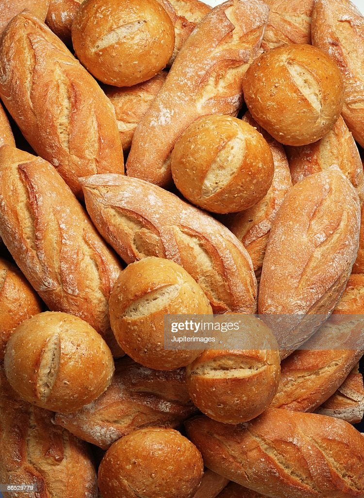 French rolls : Stock Photo