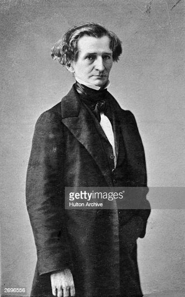 French romantic composer Hector Berlioz one of the founders of 19th century programme music