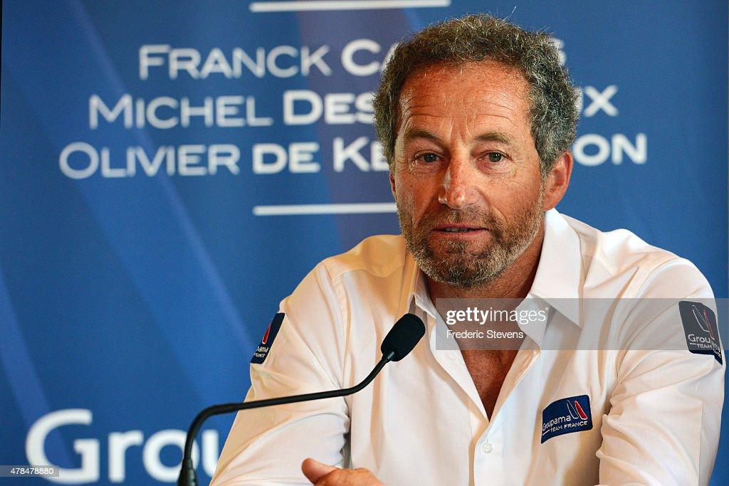 Coupe de L'America : Press conference in Paris