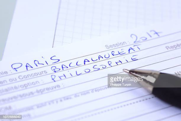 french school. - baccalaureat stock pictures, royalty-free photos & images