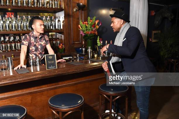 French Scotty Marshall attends an immersive theatrical experience 'Amparo' presented by HAVANA CLUB Rum on April 3 2018 in New York City