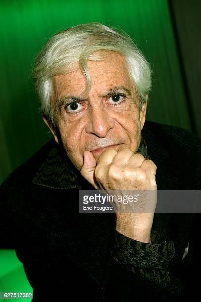 French screenwriter and author Eduardo Manet on the set of TV show 'Ce Soir Ou Jamais'