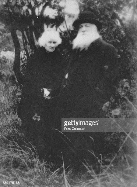 French sculptor Auguste Rodin photographed in the park of his villa at Meudon' François Auguste Rene Rodin From Verve Nos 56 JulyOctober 1939 [Verve...