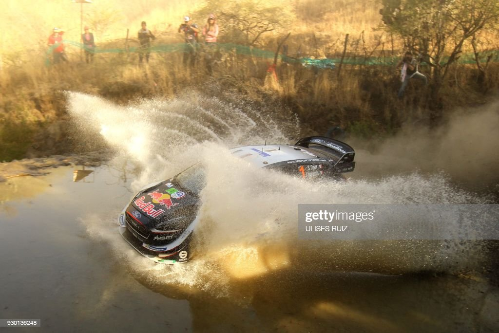 TOPSHOT-AUTO-RALLY-MEXICO : News Photo