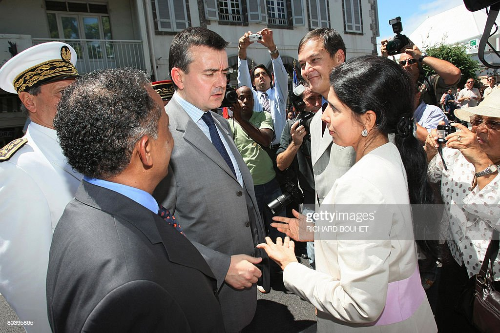 French Secretary of State for Overseas T : News Photo