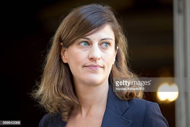 French Secretary of State for victim support Juliette Meadel attends a ministerial meeting followed by lunch at Hotel Matignon on September 7 2016 in...
