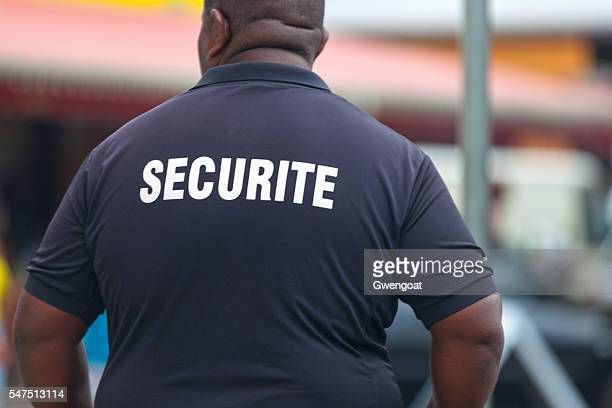 French Security staff