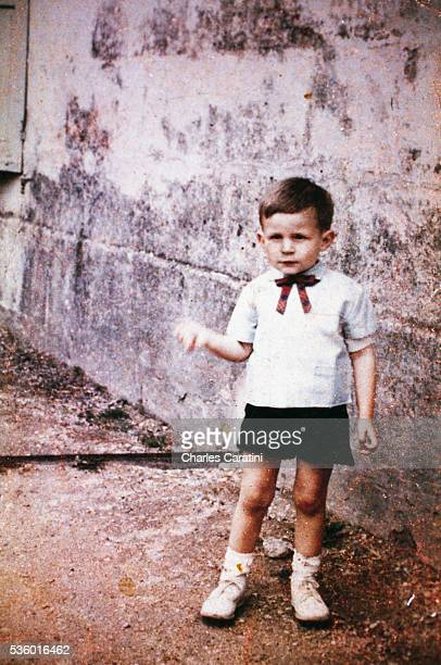 French serial killer Francis Heaulme at the age of 2
